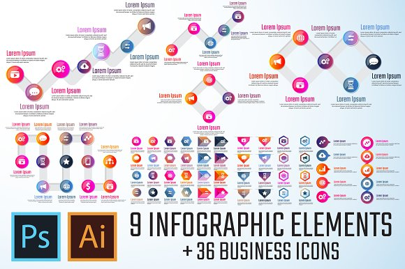 Infographics Template Vol.19