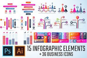 Infographics Template Vol.20