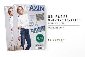 Magazine Template 56