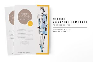 Magazine Template 57