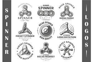 9 Spinner Logos Templates Vol.2