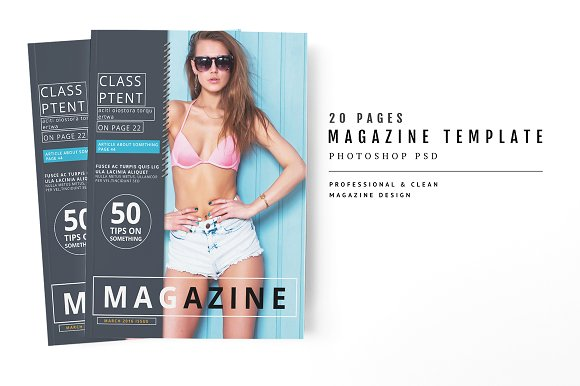 Magazine Template 58