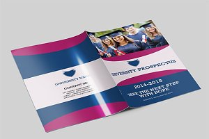 Colorful young trifold brochure brochure templates on for Exhibitor prospectus template