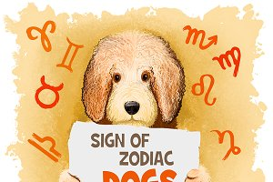 Zodiac signs 2018 - DOGS