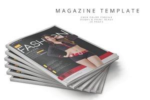 Magazine Template 62