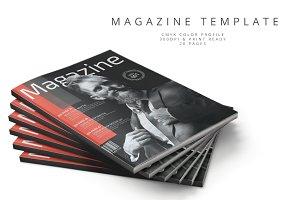 Magazine Template 64