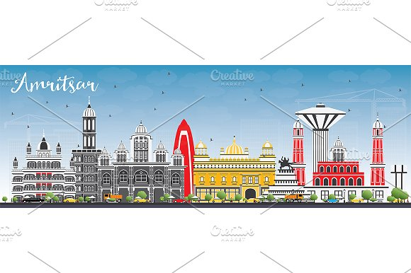 Amritsar Skyline