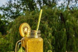 Healthy organic drink