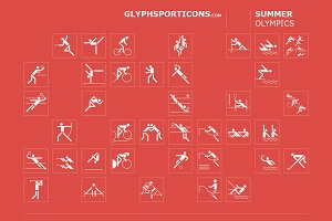 Basic sport icons - Glyphsporticons