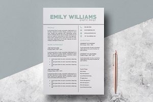 Resume Template Emily Williams