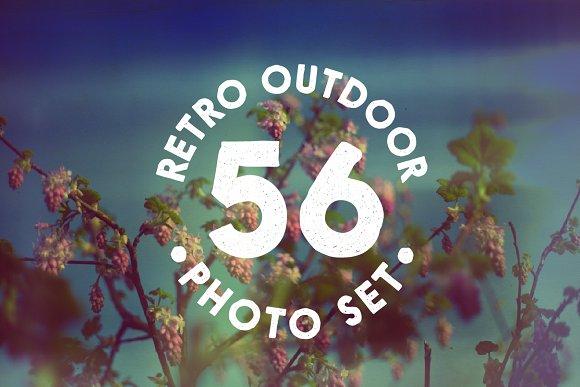 56 Retro Photo Pack