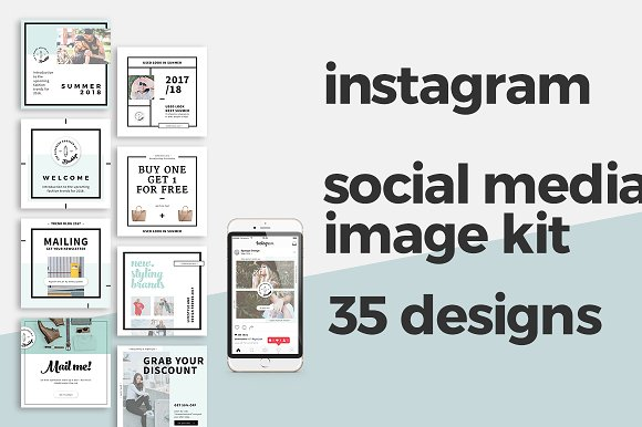 instagram templates instagram templates creative market