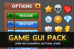 Universal Game GUI Pack