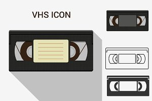 VHS tape icons