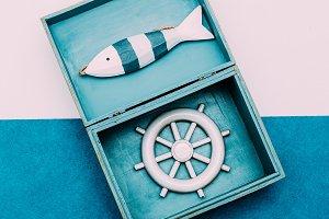 Ocean souvenirs.