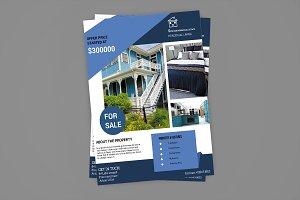 Real Estate Flyer Template V583