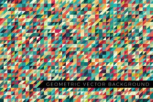 Geometric Pattern (8 Colours)