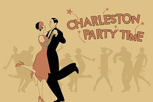 Charleston Party Time. Old style