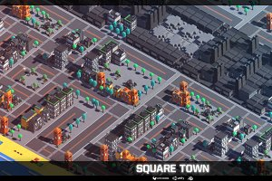 Square Town 3D