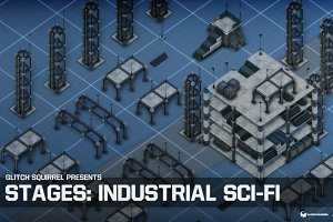 Stages: Industrial Sci-Fi