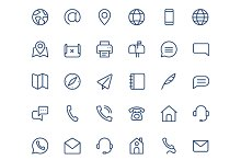 by  in Contact Icons