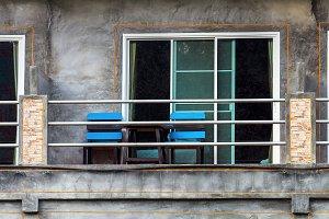 Balcony decorate,