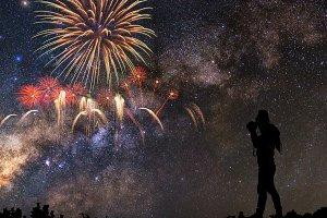Multicolor Firework