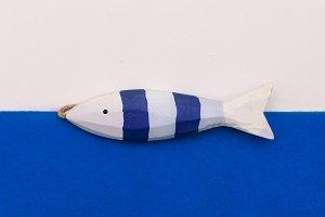 Fish souvenir Minimal art