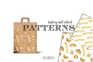 Bakery & wheat Patterns