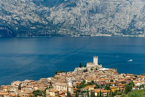 Scenic view of Malcesine