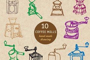 10 coffee mills