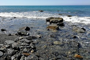 Rocks and soft waves