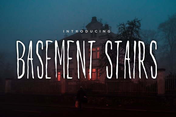 Basement Stairs Font
