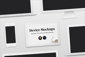 Light Apple Device Mockups