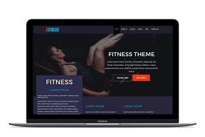 Fitness Plus HTML Template