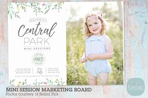 IG015 Mini Session Marketing Board