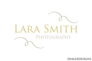 Photographer Elegant Logo PSTemplate