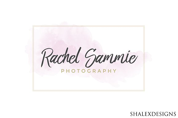 Photography Square PSD Logo Template