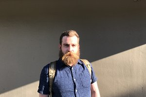 Seattle Hipster Designer with Beard