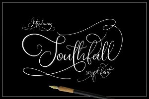 Southfall Script Font