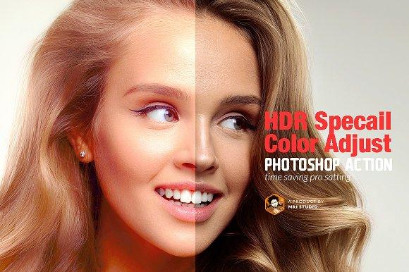HDR Specail Color Adjust