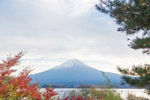 Mount Fuji in Japan