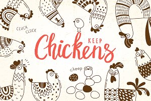 Keep Chicken - Design Set