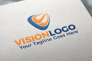 VS Letter | Vision | Logo