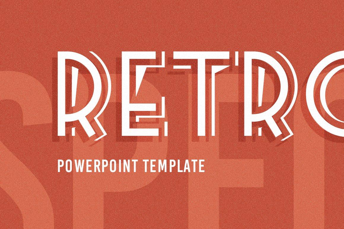 retrospective powerpoint template presentation templates