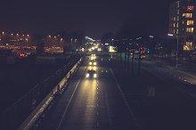 Urban transport at night