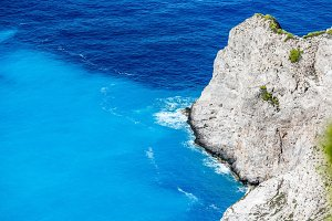Navagio Bay at Zakynthos, Greece