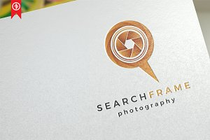 Search Frame - Logo Template