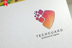 Pixel Shield / Technology - Logo