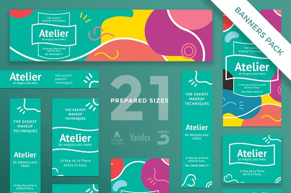 Banners Pack Atelier